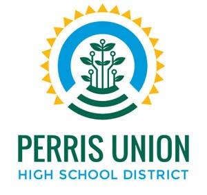 Perris union high school district logo
